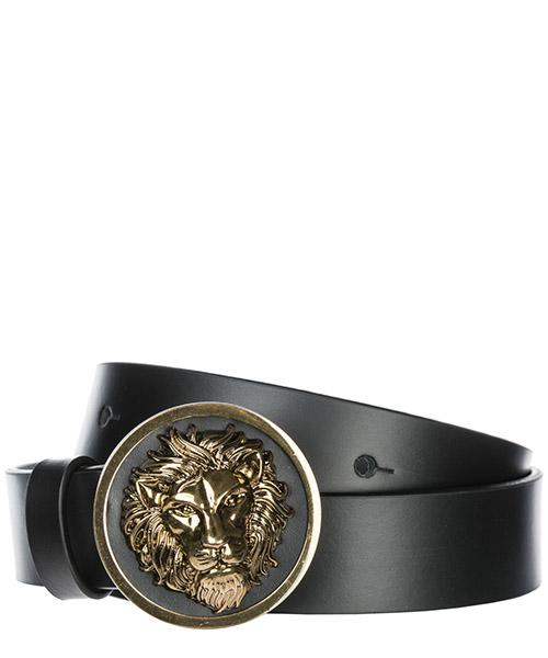 Ceinture Versus Versace Lion Head FCD0088-FCUO_F460E black / gold