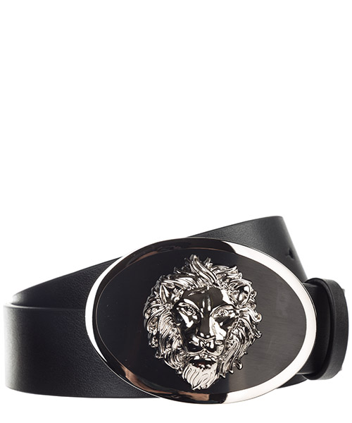 Belt Versus Versace Lion Head FCU0112-FVO_F460C black