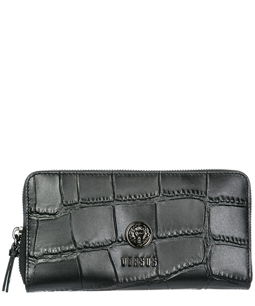 Wallet Versus Versace Lion Head FPD0112-FBCCM_F461C black - gun metal