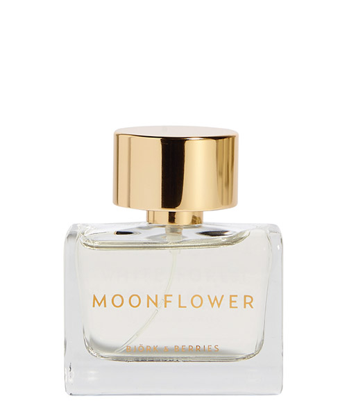 Eau de Parfum Bjork and Berries Moonflower MOONFLOWER bianco