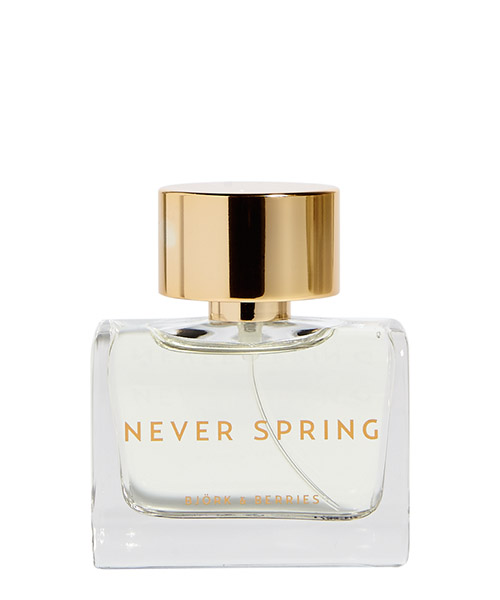 Eau de Parfum Bjork and Berries Never Spring NEVERSPRING bianco