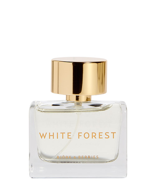 Eau de Parfum Bjork and Berries White Forest WHITEFOREST bianco