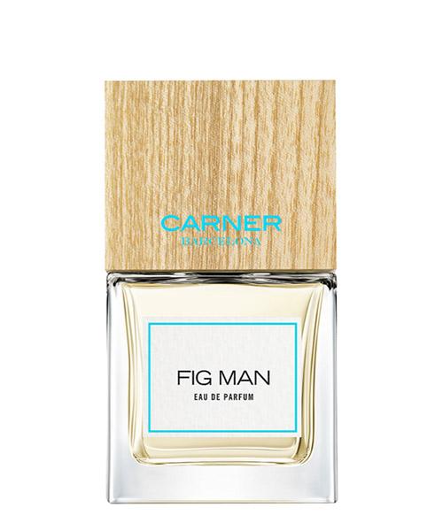 Eau de parfum Carner Barcelona FIG MAN bianco