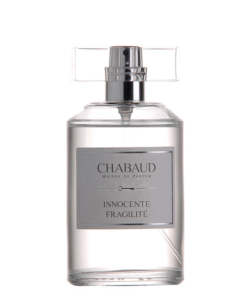 Eau de parfum chabaud maison innocente fragilité EDPBLEUTE bianco