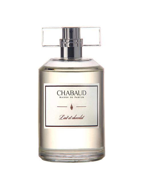 Eau de toilette chabaud maison parfum lait et chocolat EDTLEC100 bianco