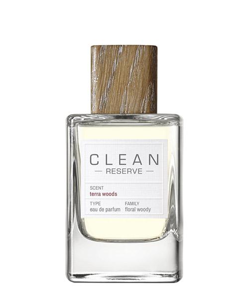 Eau de Parfum Clean Reserve Terra Woods  TERRAWOODS bianco