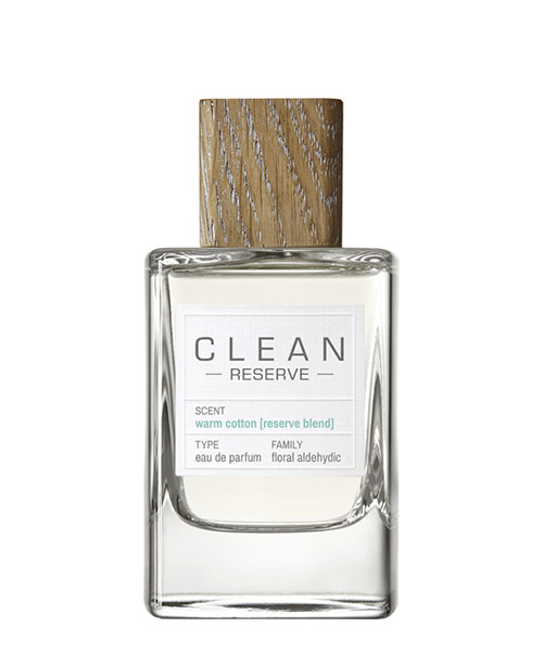 Eau de Parfum Clean Reserve warm cotton warmcotton bianco