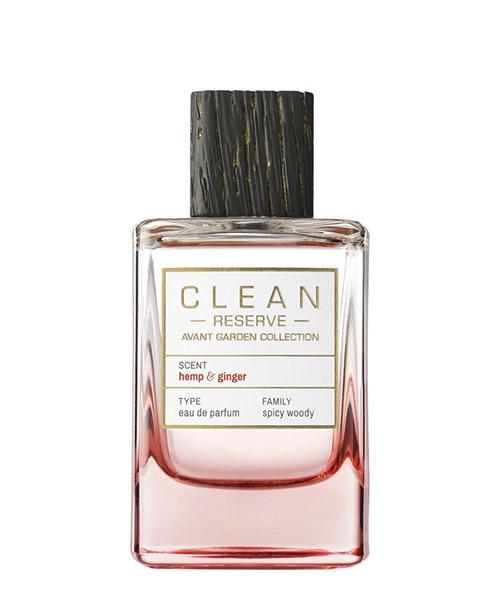 Eau de Parfum Clean Reserve Avant Garden hemp & ginger hempandginger bianco