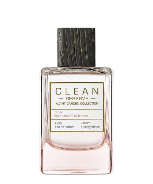 Eau de Parfum Clean Reserve Avant Garden nude santal & heliotrope nudesantalandheliotrope bianco