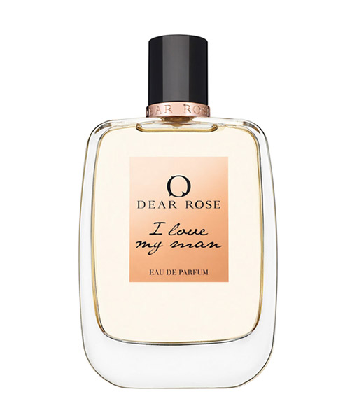 Parfum Dear Rose I LOVE MY MAN bianco