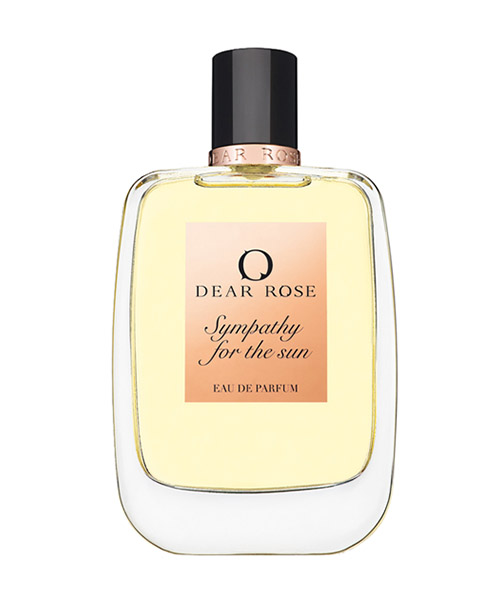 Parfum Dear Rose SYMPATHY FOR THE SUN giallo