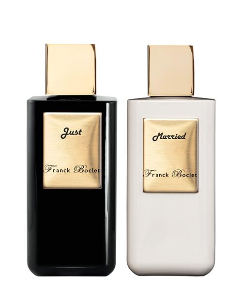Extrait de parfum Franck Boclet JUST MARRIED bianco
