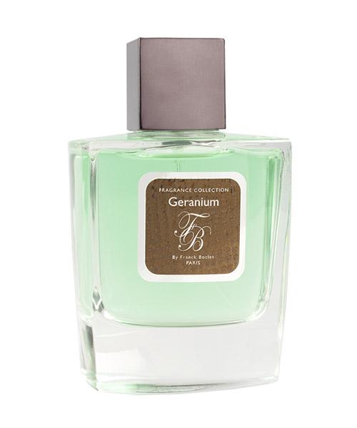 Eau de Parfum Franck Boclet geranium geranium bianco