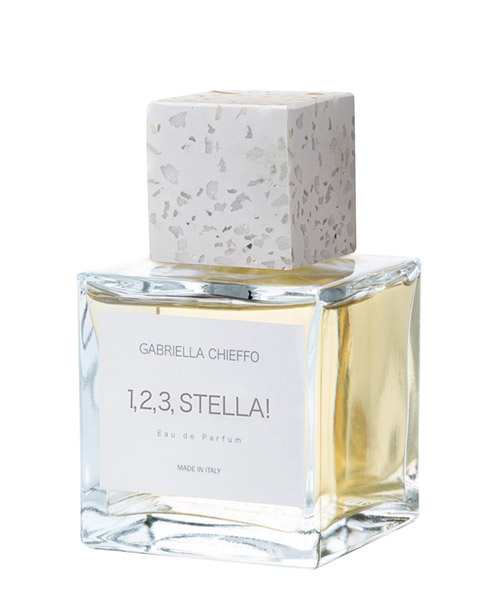 Eau de Parfum Gabriella Chieffo 1,2,3 stella!  123STELLA bianco