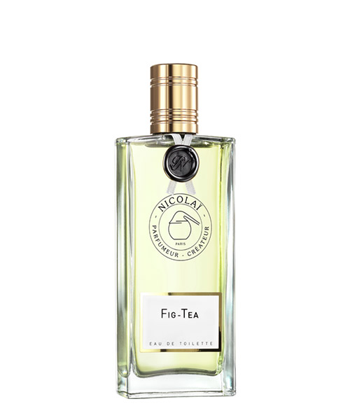 Eau de toilette Nicolai fig tea NIC1241 bianco