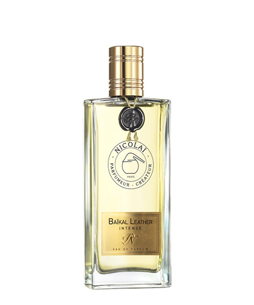 Eau de Parfum Nicolai baikal leather intense nic1827 bianco