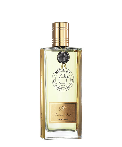 Eau de parfum Nicolai incense oud NIC1832 bianco