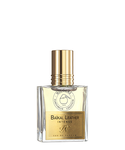 Eau de parfum Nicolai baikal leather intense NIC1927 bianco