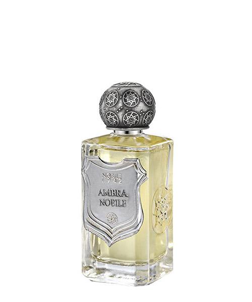 Eau de parfum Nobile 1942 ambra AMB101 bianco