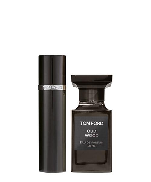 Eau de parfum Tom Ford oud wood set holiday collection T959010000 bianco