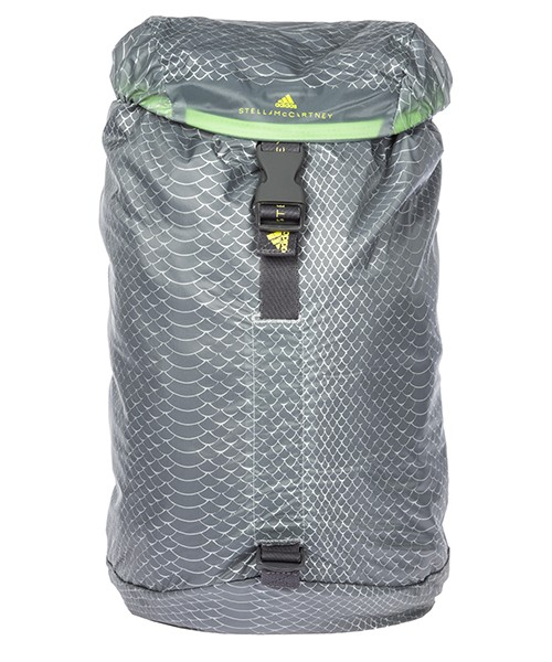 Rucksack Adidas by Stella McCartney Adizero DM3438 mid grey - shock yellow