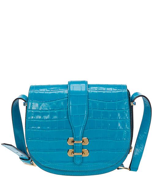 Schultertasche Alberta Ferretti alby a740980080291 azzurro