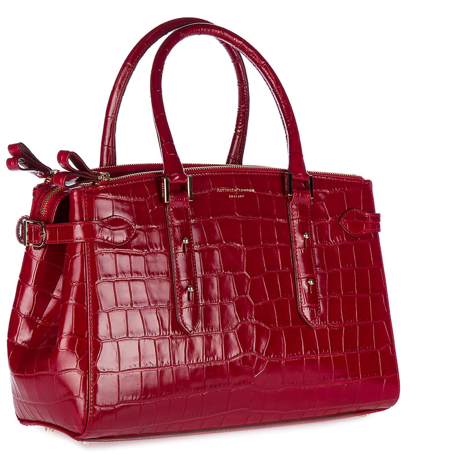 Women's leather handbag shopping bag purse brook street
