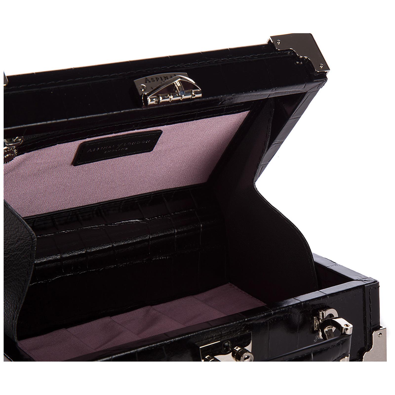Bolso de mano pochette mujer en piel  trunk