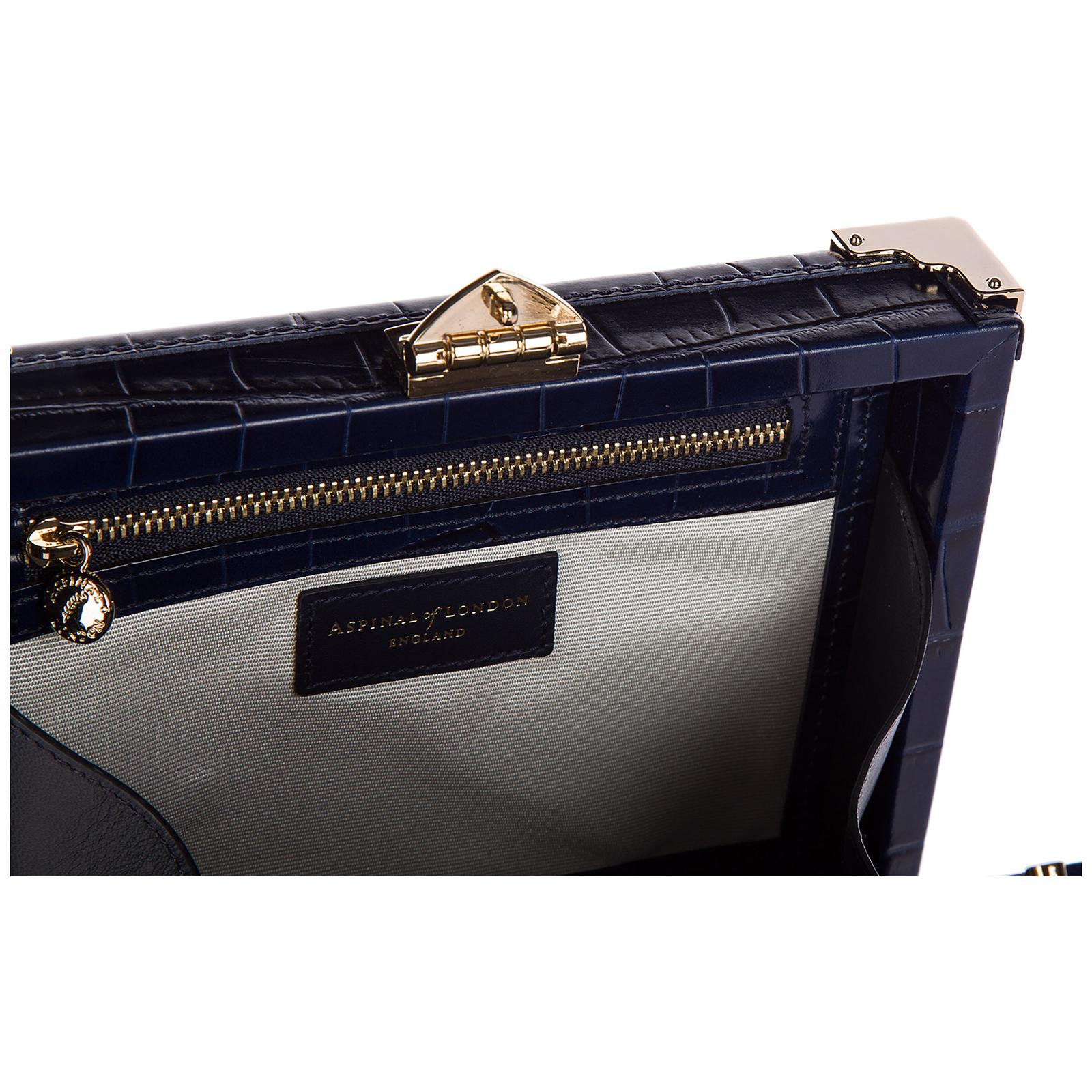 Pochette handtasche damen tasche leder clutch bag  trunk