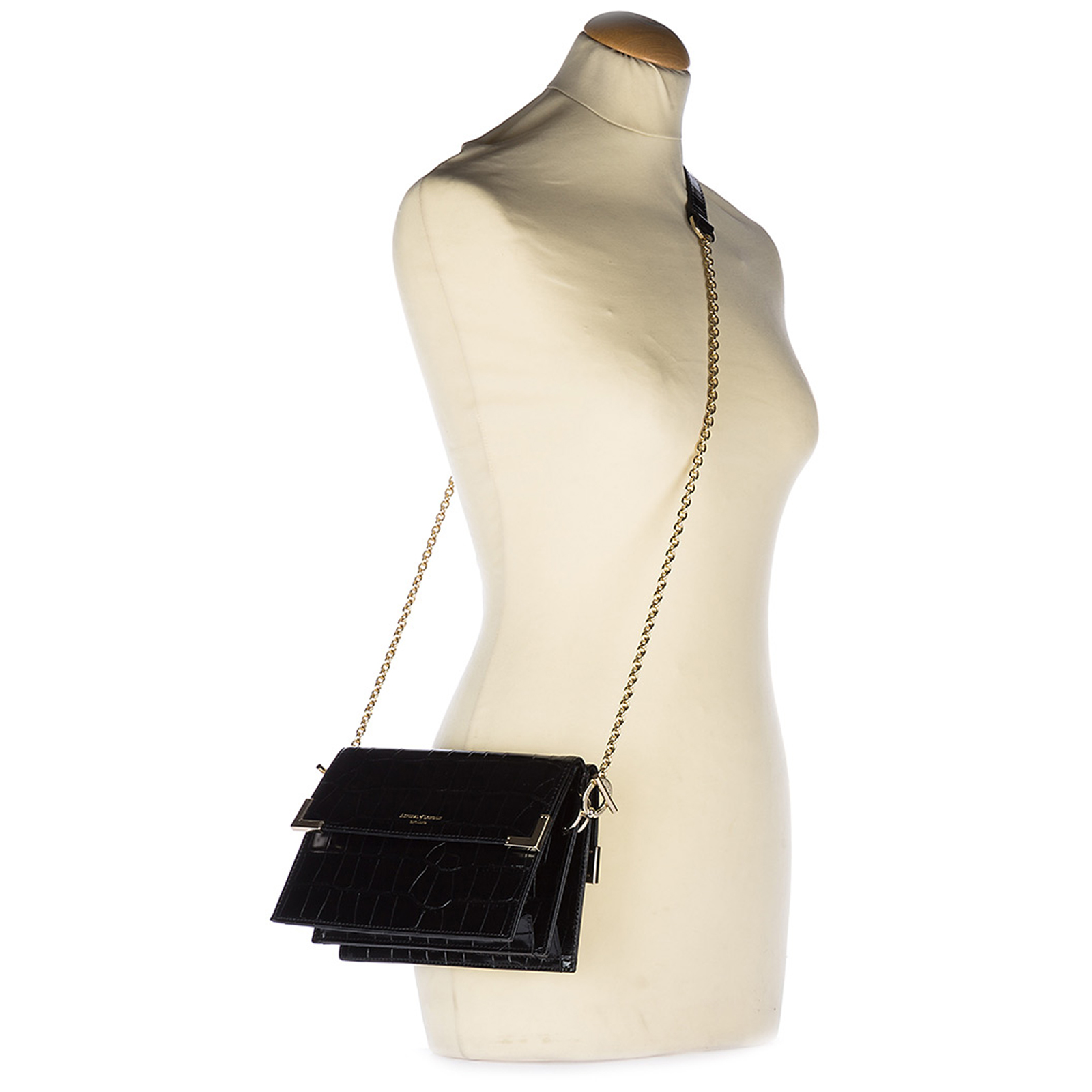 Women's leather shoulder bag chelsea