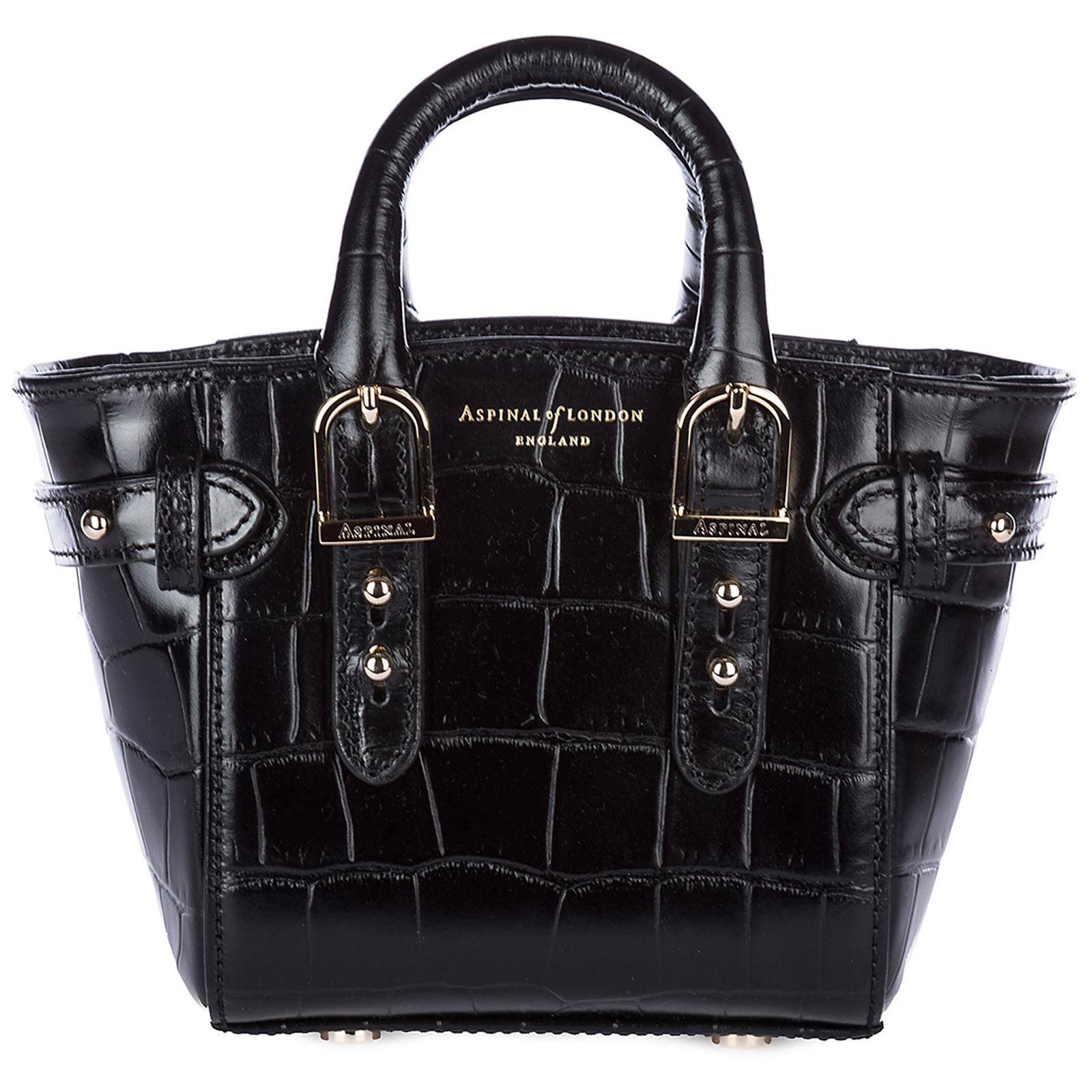 8f234b3461 Aspinal of London Women s handbag cross-body messenger bag purse micro  marylebone
