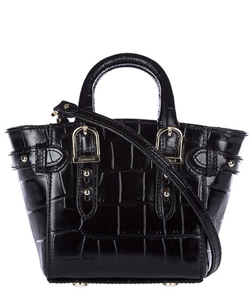 сумка с короткой ручкой плечо сумка почтальона женская  micro marylebone secondary image