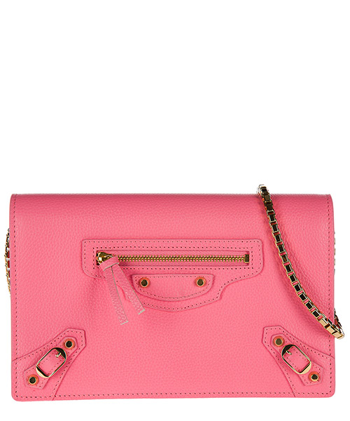 Crossbody bag Balenciaga 444168 DY60G 5817 rosa dragee