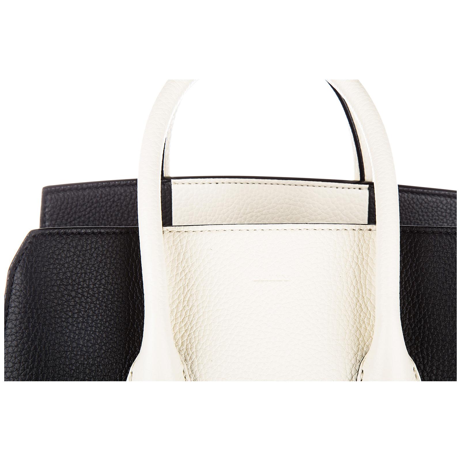 Women's leather handbag shopping bag purse sommet