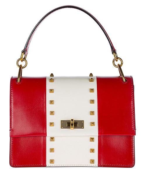 Handbag Bally 6218984 rosso