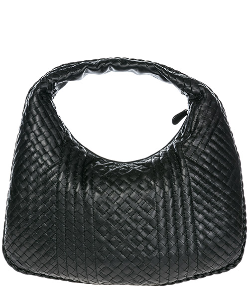 Women's leather shoulder bag veneta secondary image