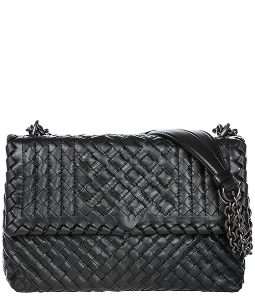 Crossbody bag Bottega Veneta Olimpia 386498VCB101000 nero