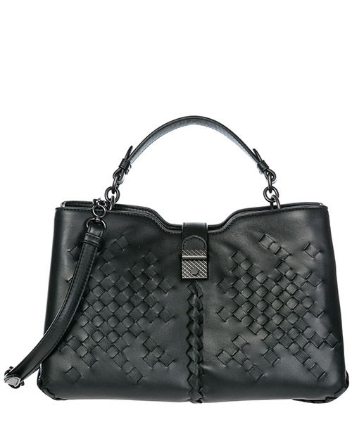 Shoulder bag Bottega Veneta Napoli 493726VCOF01000 nero