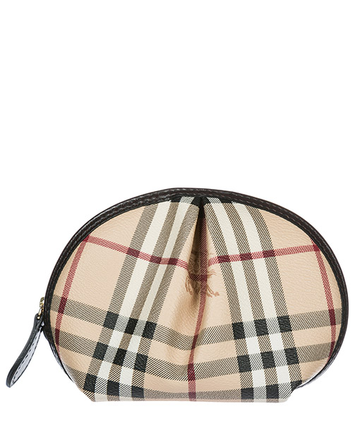 Beauty case Burberry 32069701 check / chocolate