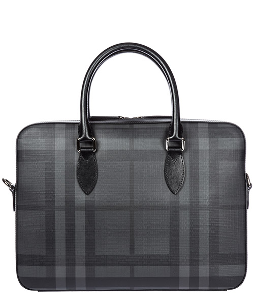 Sac à main Burberry Hambleton 40564551 charcoal - black