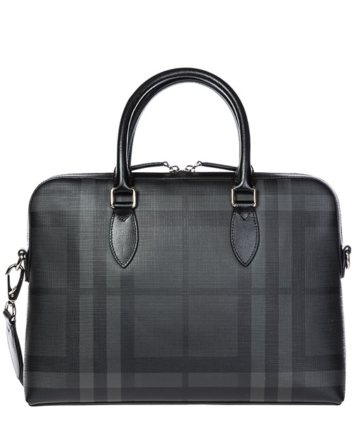 Портфель Burberry 40568841 charcoal / black