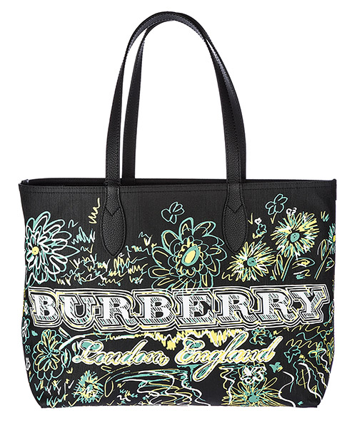 Shopping bag Burberry 4065911 nero