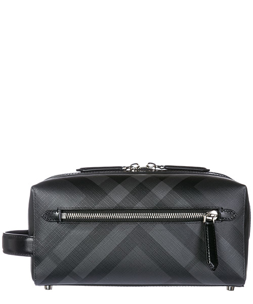 Beauty case Burberry 4068330 charcoal/black