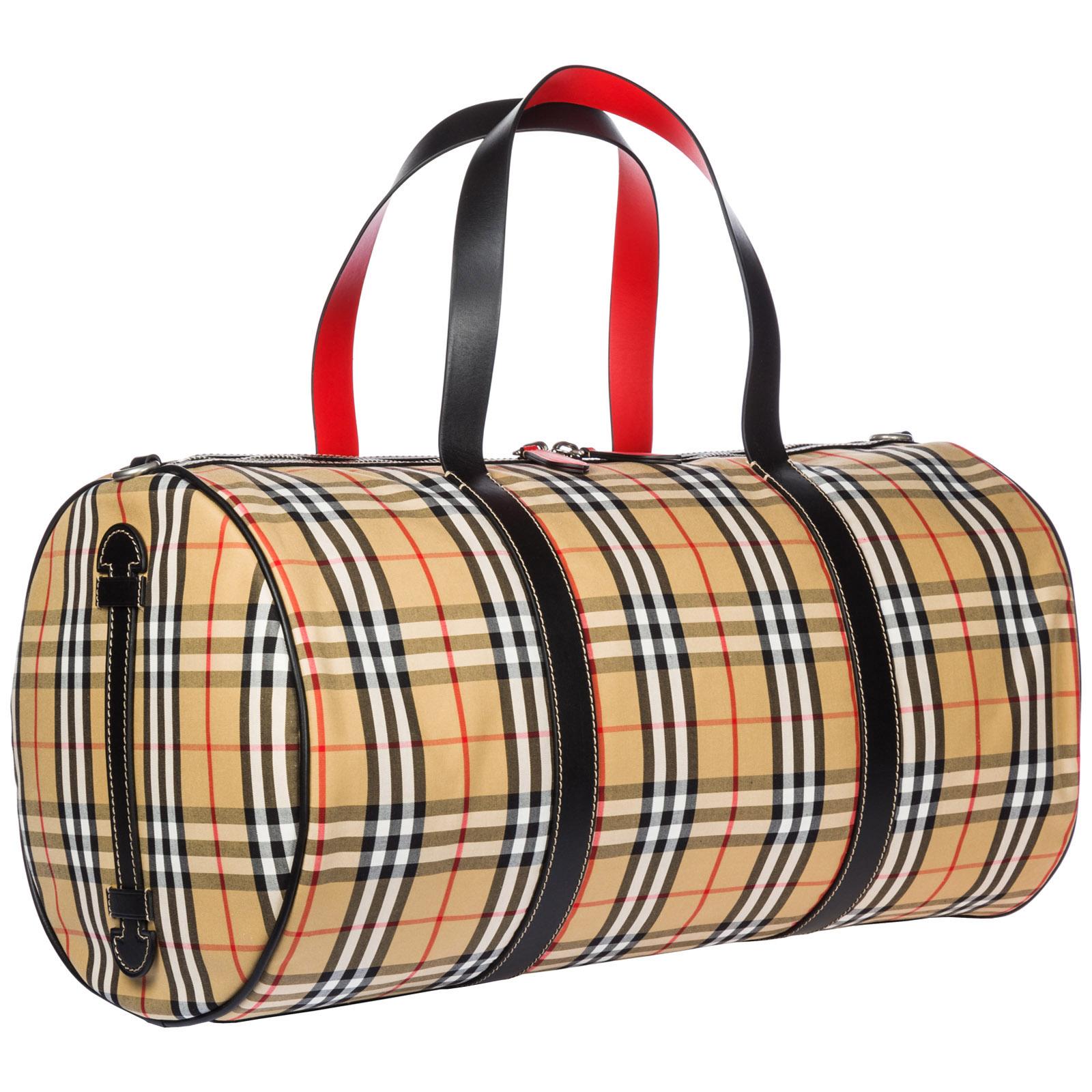Duffle bag Burberry Kennedy 40742791 military red   FRMODA.com a18a45e3d6