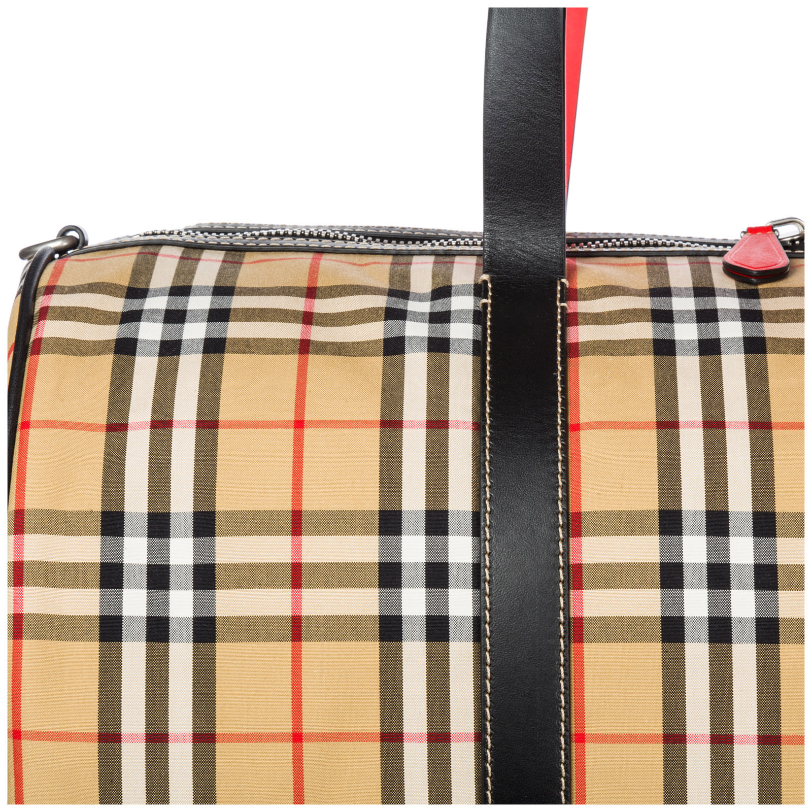 9b4c209579af Duffle bag Burberry Kennedy 40742791 military red