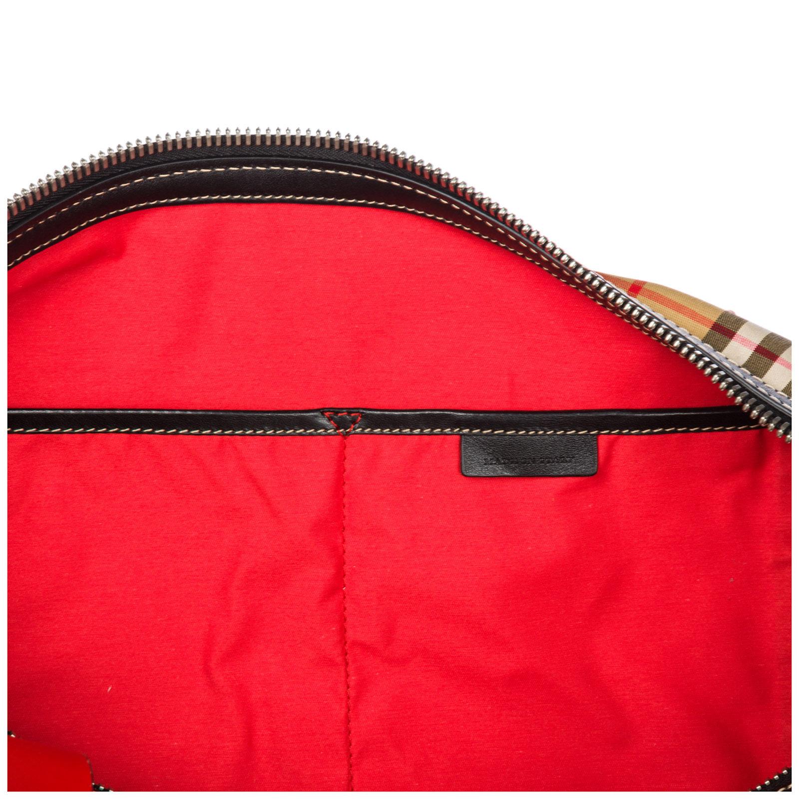 9b4c209579af Duffle bag Burberry Kennedy 40742791 military red