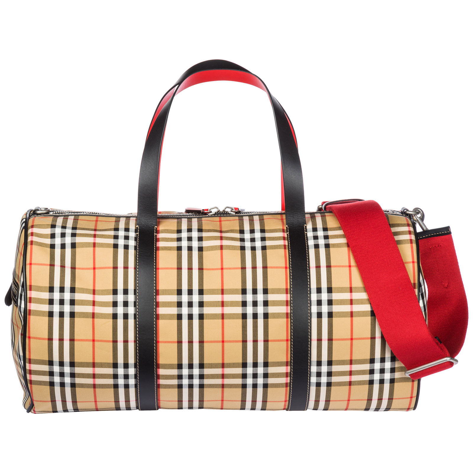 94d4bf85b316 Burberry Travel duffle weekend shoulder bag kennedy
