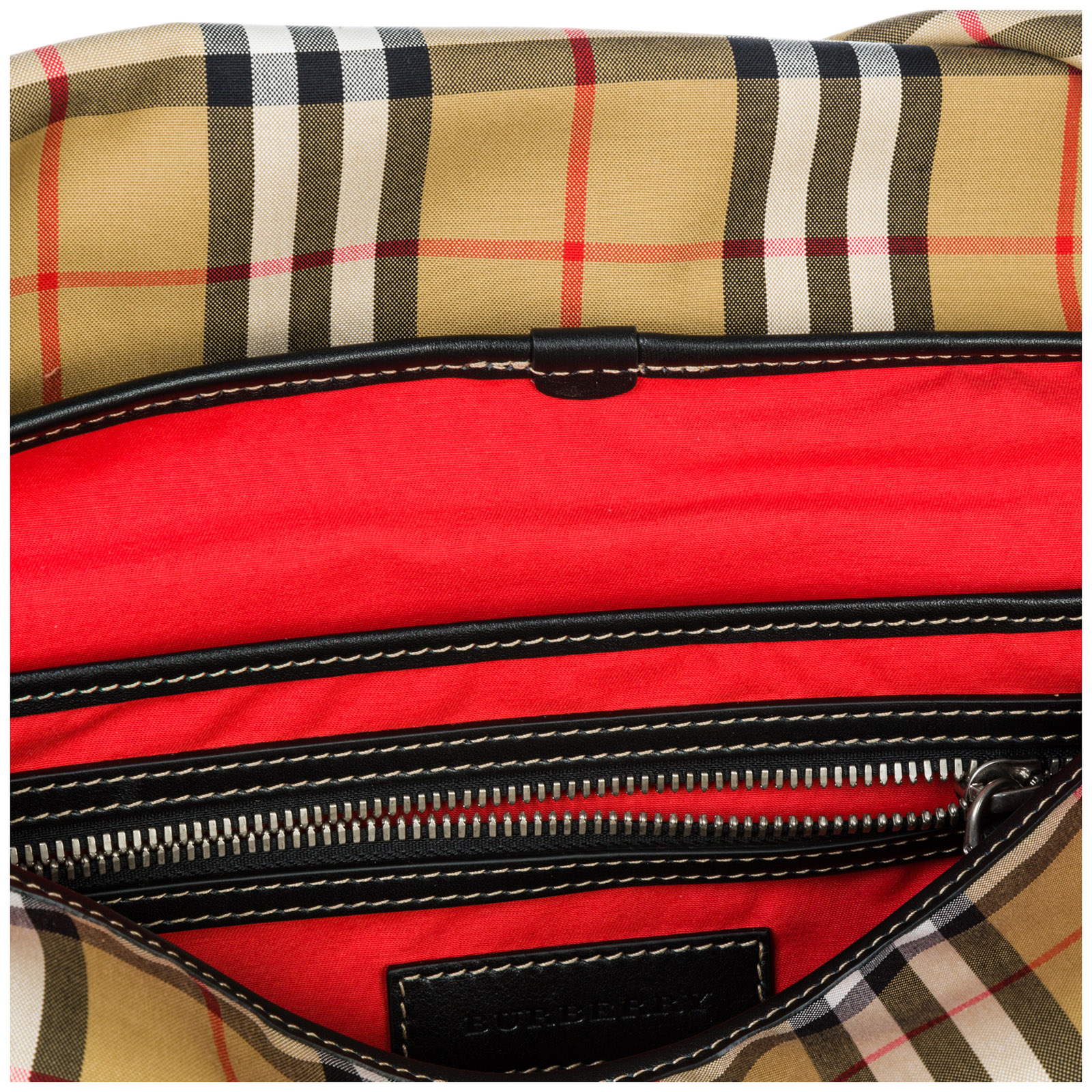 2dab5581c8c5 Crossbody bag Burberry Burleigh 40743601 military red