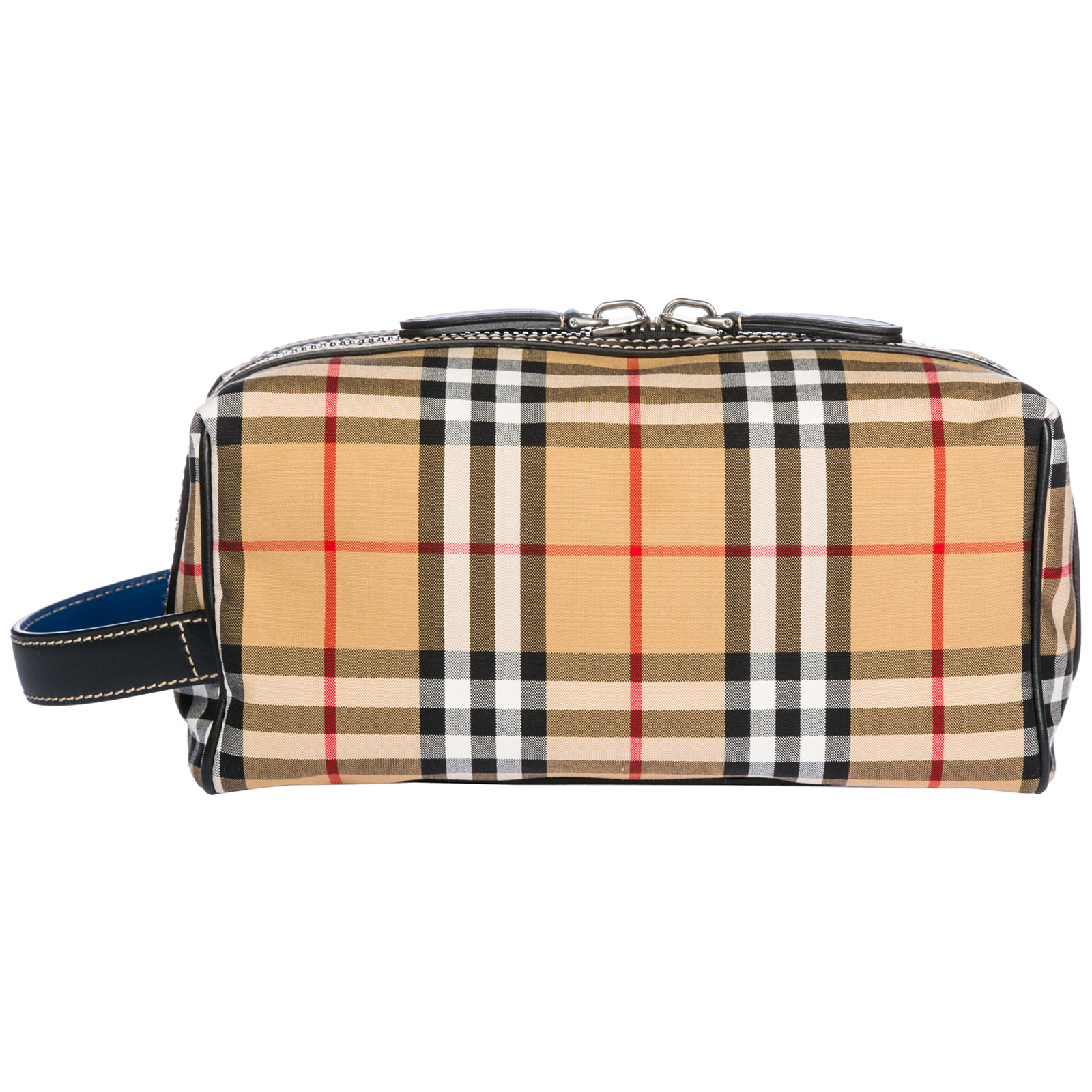 3fb3114fd780 Burberry Men s travel toiletries beauty case wash bag