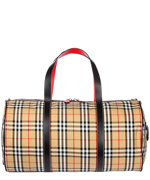 Borsone da viaggio Burberry Kennedy 40742791 military red